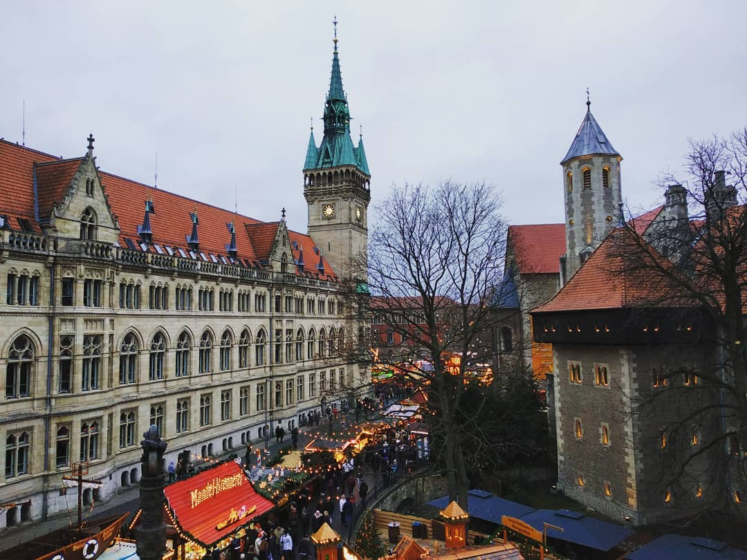 """Christmas market - Brunswick, Germany, December 2018"""
