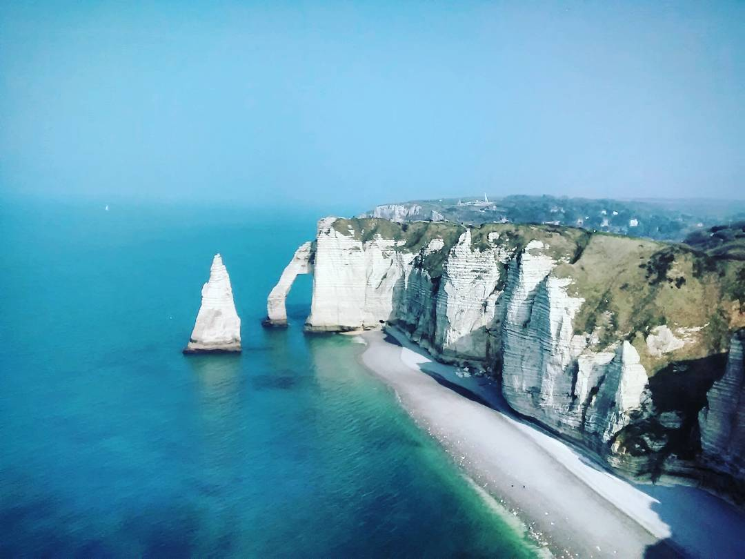 """Étretat, France, March 2016"""