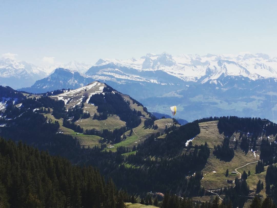 """Mount Rigi, Switzerland, April 2017"""
