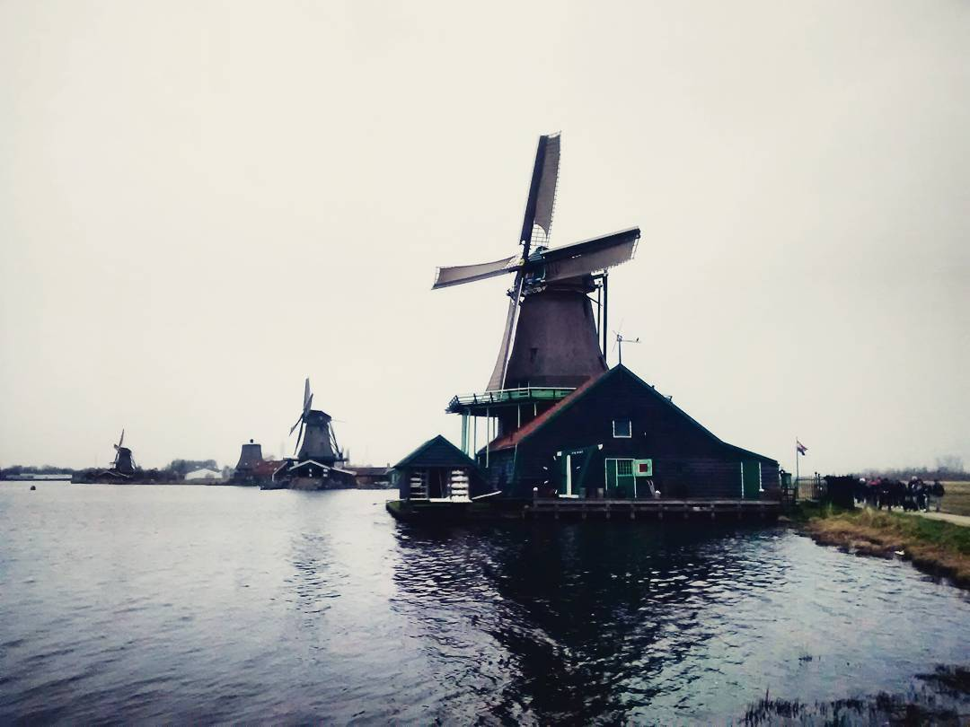 """Windmills - The Netherlands, March 2016"""